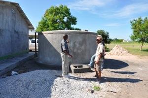 Rainwater harvesting school